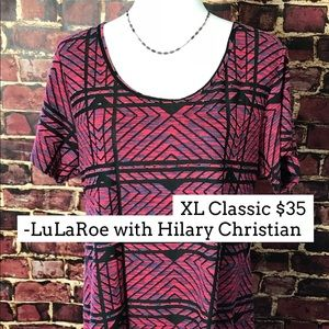 XL LuLaRoe Classic t